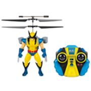 World Tech Toys Marvel Wolverine Flying Figure Helicopter