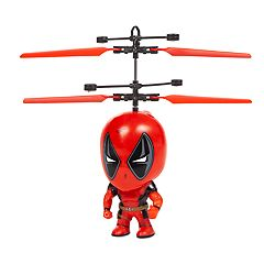World Tech Toys Marvel Deadpool Flying Figure Helicopter