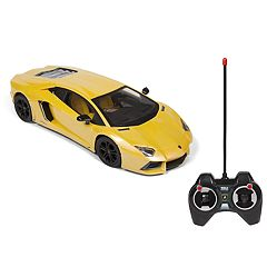 World Tech Toys Lamborghini Aventador Electric Remote Control  Car