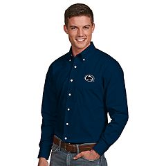 Men's Antigua Penn State Nittany Lions Dynasty Button Down Shirt