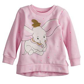 Disney's Dumbo Baby Girl Softest Fleece Sweatshirt by Jumping Beans®