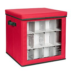 Honey-Can-Do Small Ornament Storage Cube