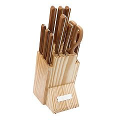 Cambridge Esben Decal 12-Piece Knife Block Set