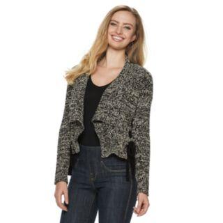 Women's Rock & Republic® Side Lace-up Flyaway Cardigan