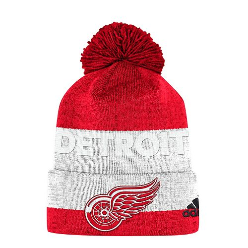 premium selection 2e58e edae7 Adult adidas Detroit Red Wings Beanie