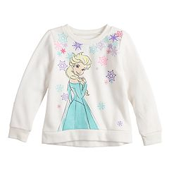 Disney's Frozen Elsa Toddler Girl Softest Fleece Sweatshirt by Jumping Beans®