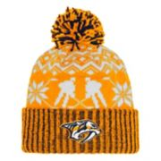 Adult adidas Nashville Predators Ugly Sweater Beanie