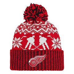 Adult adidas Detroit Red Wings Ugly Sweater Beanie