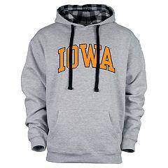Men's Iowa Hawkeyes Benchmark Colorblock Hoodie