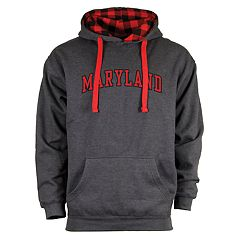 Men's Maryland Terrapins Benchmark Colorblock Hoodie