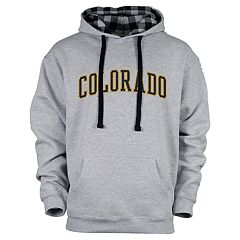 Men's Colorado Buffaloes Benchmark Colorblock Hoodie