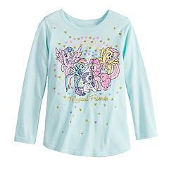 Toddler Girl Jumping Beans® My Little Pony 'Magical Friends' Glittery Graphic Tee