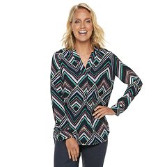 Women's Dana Buchman Crepe Tunic Top
