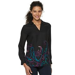 Women's Dana Buchman Crepe Top