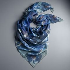 Women's Simply Vera Vera Wang Floral Scarf