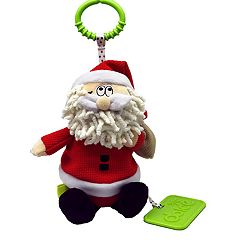 Dolce Plush Santa Holiday Activity Velour Plush Toy