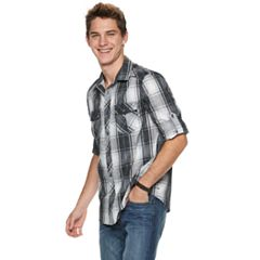 Men's Urban Pipeline® Plaid Button-Down Shirt