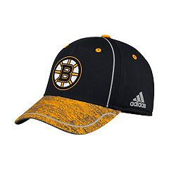 Adult adidas Boston Bruins Alpha Flex-Fit Cap