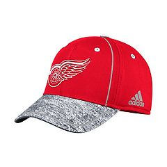 Adult adidas Detroit Red Wings Alpha Flex-Fit Cap