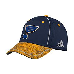 Adult adidas St. Louis Blues Alpha Flex-Fit Cap