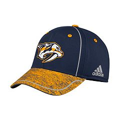 Adult adidas Nashville Predators Alpha Flex-Fit Cap