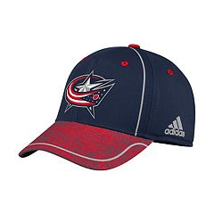 Adult adidas Columbus Blue Jackets Alpha Flex-Fit Cap