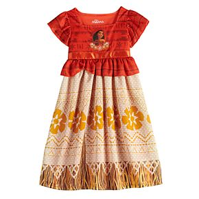 Disney's Moana Toddler Girl Fantasy Gown Nightgown