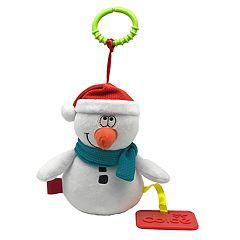 Dolce Plush Snowman Holiday Activity Velour Plush Toy