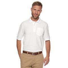 Men's Croft & Barrow® Easy Care Pocket Pique Polo