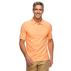 Men's Croft & Barrow® Easy Care Pocket Pique Polo
