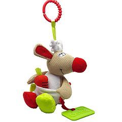 Dolce Plush Reindeer Holiday Activity Velour Plush Toy