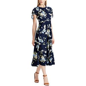 6fdc6fa18d2a Women's Chaps Tropical Fit & Flare Midi Dress