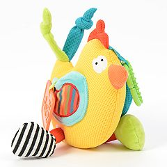 Dolce Plush Spring Chick Activity Velour Plush Toy