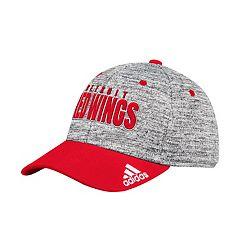 Adult adidas Detroit Red Wings Delta Flex-Fit Cap