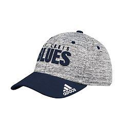 Adult adidas St. Louis Blues Delta Flex-Fit Cap