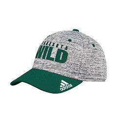 Adult adidas Minnesota Wild Delta Flex-Fit Cap