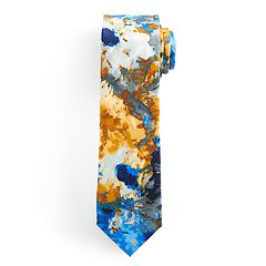 Men's Batik Bay Abstract Watercolor Tie