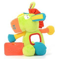 Dolce Plush Spring Pony Activity Velour Plush Toy