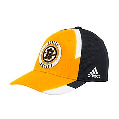 Adult adidas Boston Bruins Echo Flex-Fit Cap