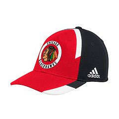 Adult adidas Chicago Blackhawks Echo Flex-Fit Cap