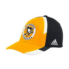 Adult adidas Pittsburgh Penguins Echo Flex-Fit Cap