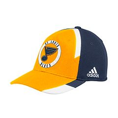Adult adidas St. Louis Blues Echo Flex-Fit Cap