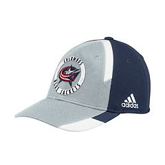 Adult adidas Columbus Blue Jackets Echo Flex-Fit Cap