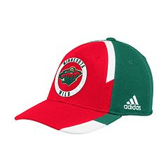 Adult adidas Minnesota Wild Echo Flex-Fit Cap