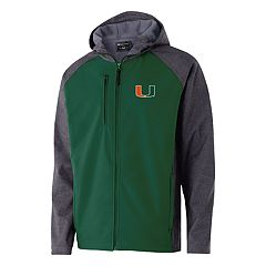 Men's Miami Hurricanes Raiders Softshell Jacket
