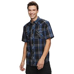 Men's Urban Pipeline™ Plaid Button-Front Shirt