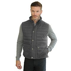 Men's Mountain and Isles Sueded Poplin Vest