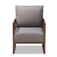 Baxton Studio Mid-Century Armchair