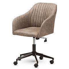 Baxton Studio Mid-Century Office Chair