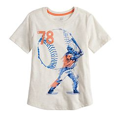 Boys 4-12 SONOMA Goods for Life™ Rounded Hem Baseball Graphic Tee